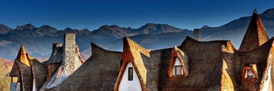 El Castillo de Arcilla del Valle de Las Hadas de Transilvania