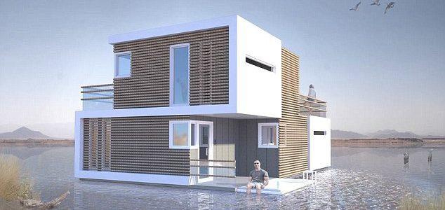 Casa modular que se divide en dos en caso de divorcio o cambios familiares