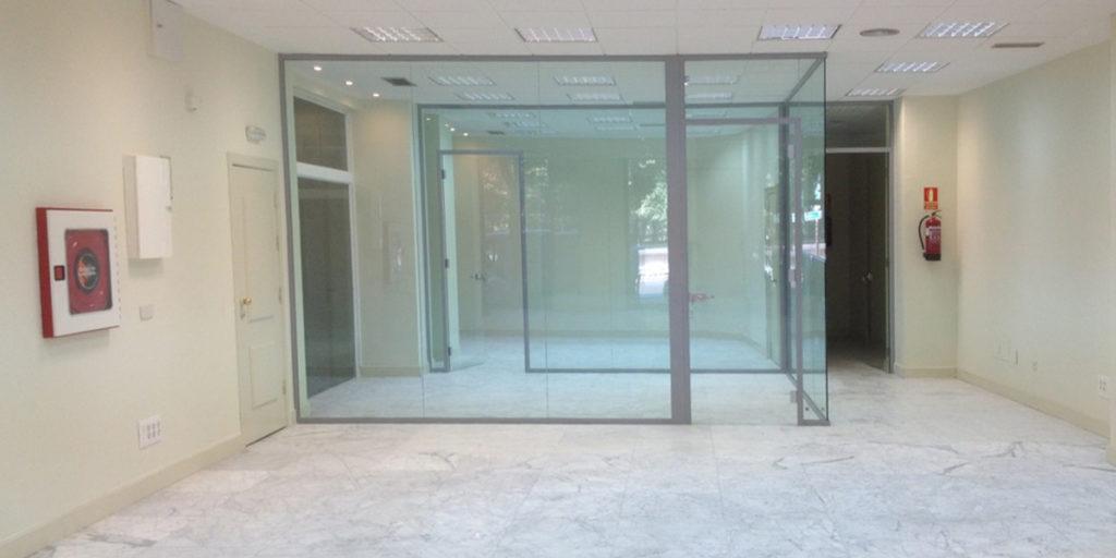 Proyecto de interiorismo y rehabilitación, dentro del sector bancario, oficinas y cajeros