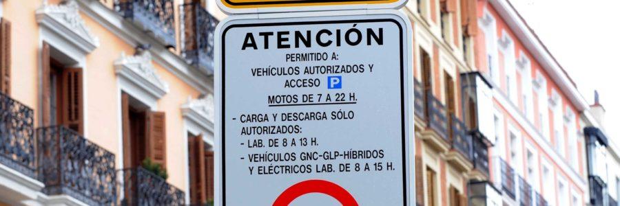 El cierre del tráfico en Madrid Centro arrancará en noviembre